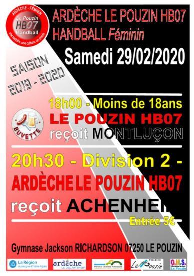 Affiche du 29 02 2020