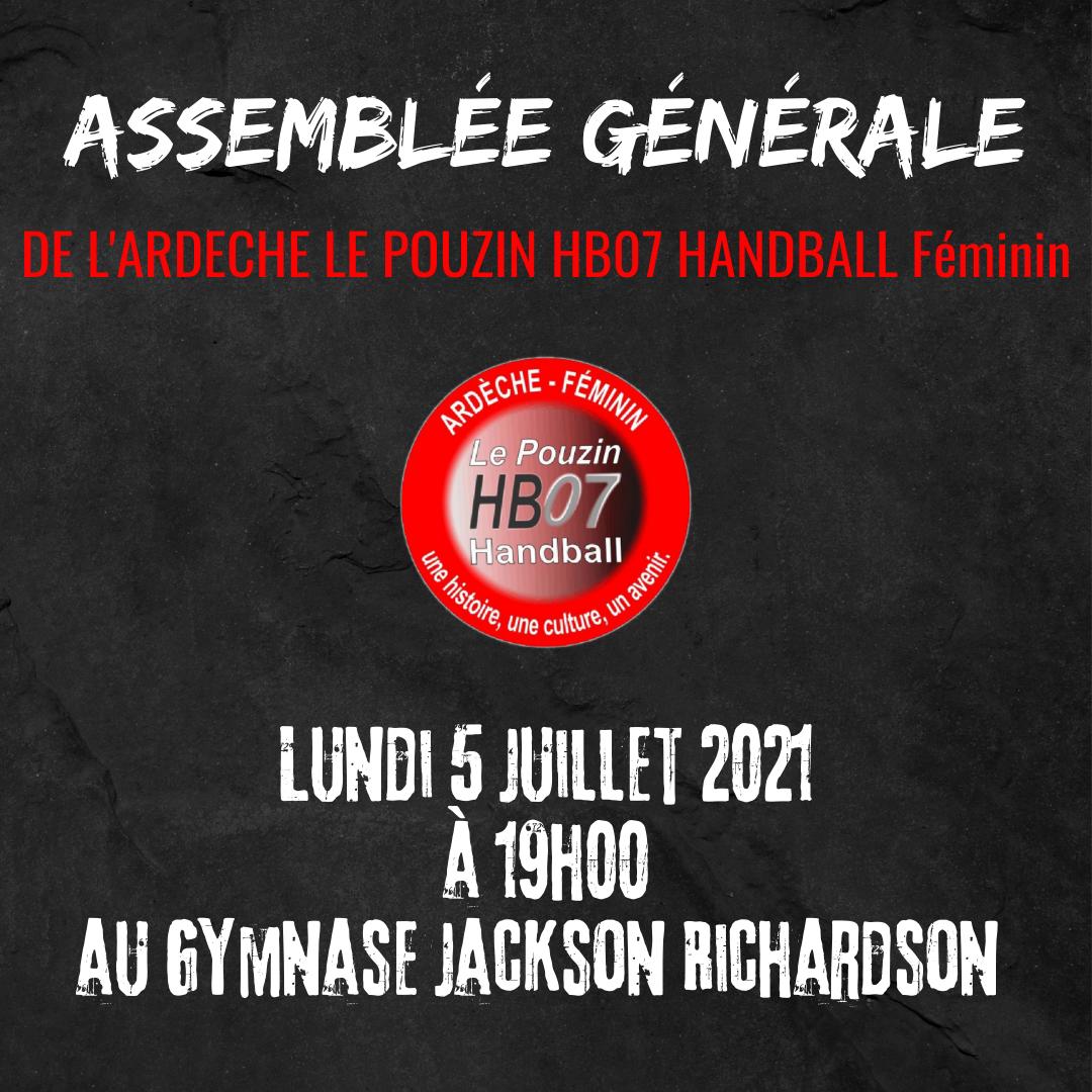 Assemblee generale 1
