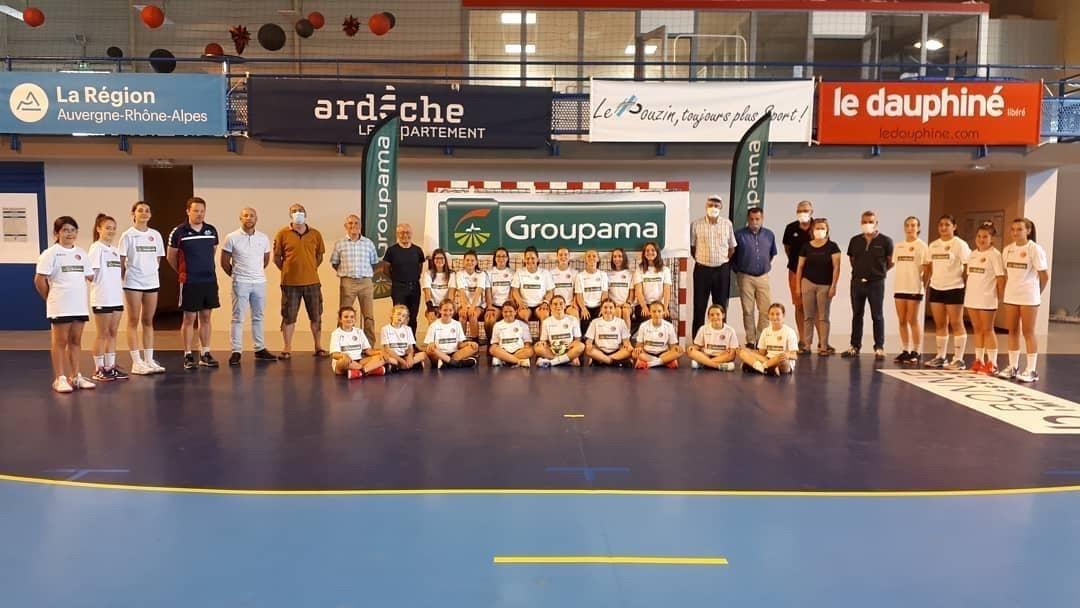Groupama handball jeunes