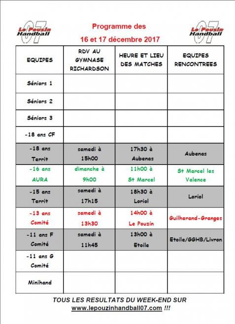 Hb017 programme 16 17 decembre