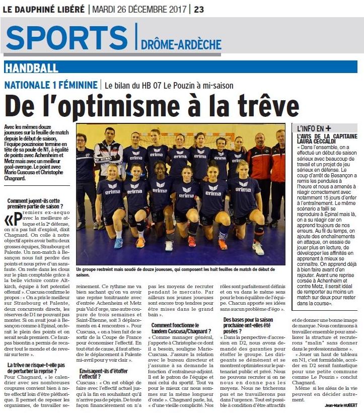 Hb07 page dl sports 26 decembre 2017