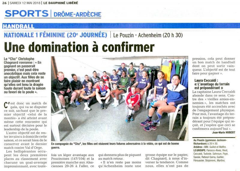 Hb07 page sports 26 07 du 12 mai 2018