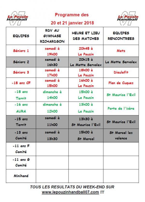 Hb07 programme 20 21 janvier 2017