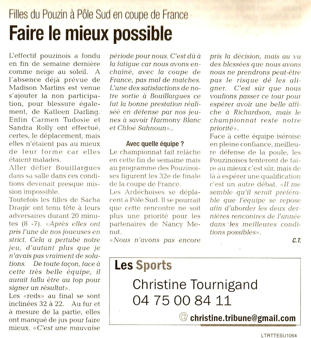 La tribune 27 11 2014