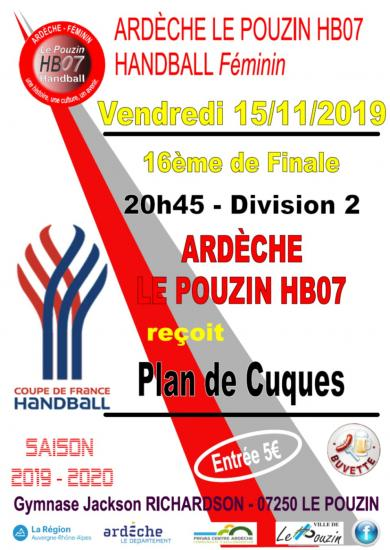 Match d2 coupe de france 15 11 19