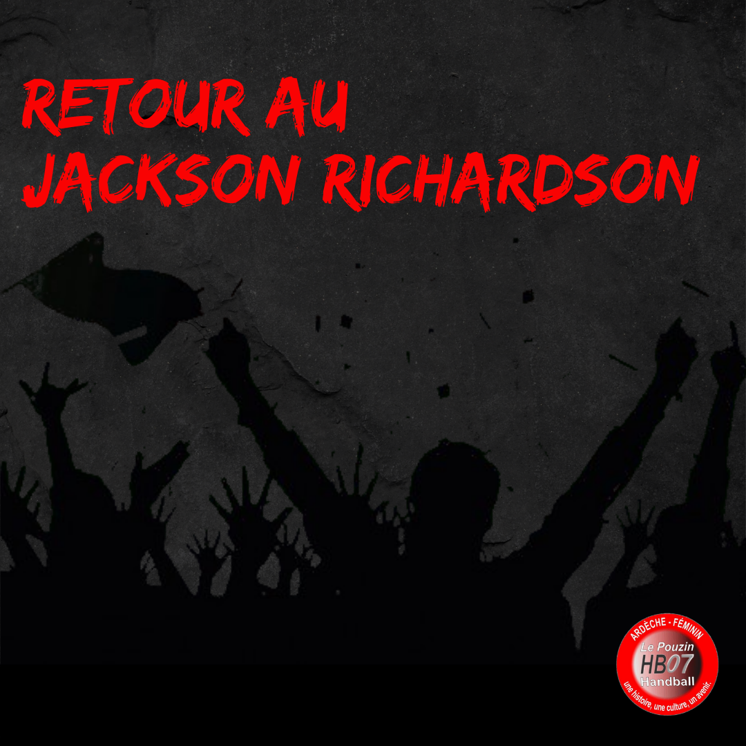 Retour au jackson richardson